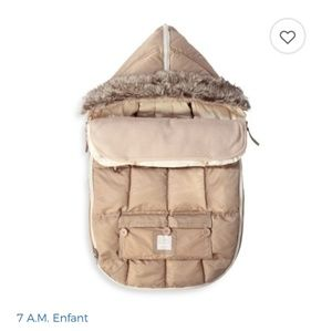 7 A.M. Baby Enfant Le Sac Igloo 500 Carseat Cover